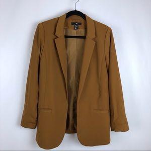 H&M Blazer Cognac Colored US Sz. 12